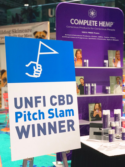 UNFI CBD Pitch Slam Winner